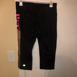 Cropped yoga pants